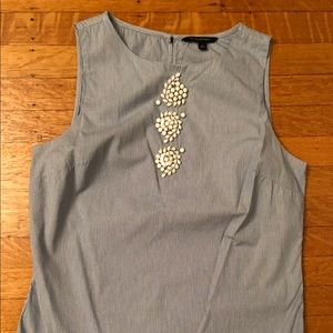 Banana Republic embellished shirt
